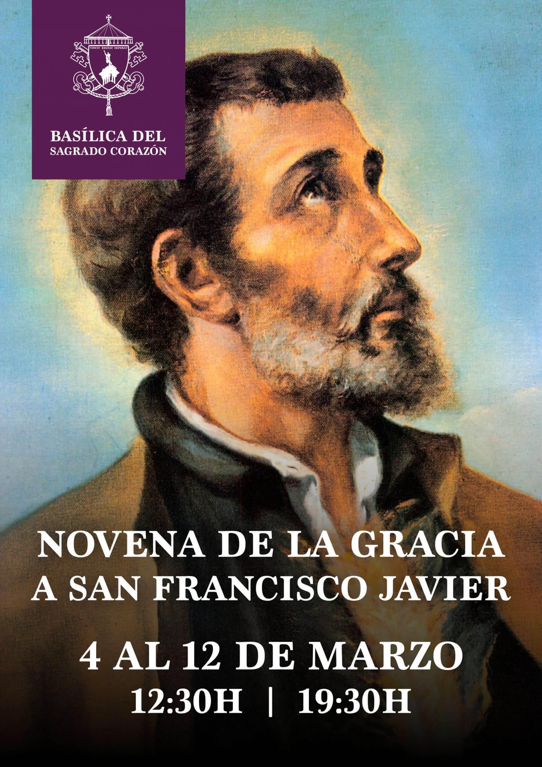 Novena de la Gracia a San Francisco Javier, 2020