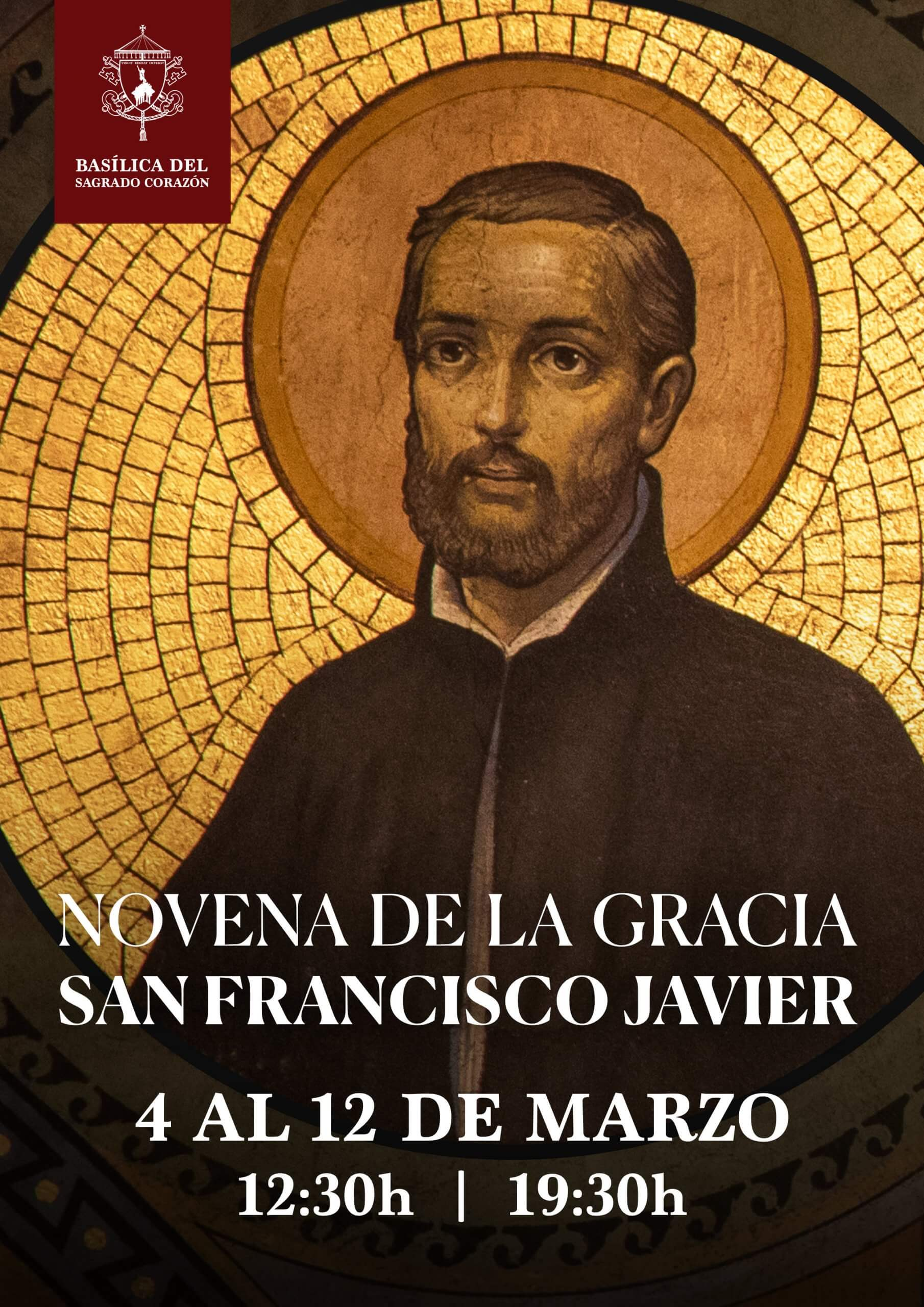 Novena de la Gracia a San Francisco Javier, 2021